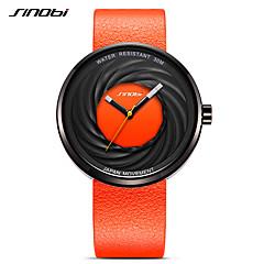 SINOBI Ανδρικά Αθλητικό Ρολόι Ρολόι Φορέματος Μοδάτο Ρολόι Βραχιόλι Ρολόι Μοναδικό Creative ρολόι Ιαπωνικά Χαλαζίας Ανθεκτικό στο Νερό
