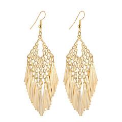 preiswerte Ohrringe-Damen Quaste Tropfen-Ohrringe Anhänger - versilbert, vergoldet Anhänger Stil, Quaste, Retro Gold / Silber Für Weihnachts Geschenke Hochzeit Party