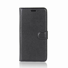 For Case Cover Card Holder Wallet with Stand Flip Full Body Case Solid Color Hard PU Leather for ASUS Asus ZenFone Max ZC550KL Asus