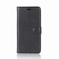 お買い得  その他のケース-ケース 用途 AsusのZenFoneマックスZC550KL AsusのZenfone 2レーザーZE550KL Asus AsusのZenfone 6 A601CG カードホルダー ウォレット スタンド付き フリップ フルボディーケース 純色 ハード PUレザー のために