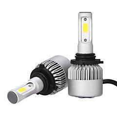 お買い得  HID&ハロゲンライト-9006 車載 電球 36W/pcs*2W COB 3600lm LED ヘッドランプ