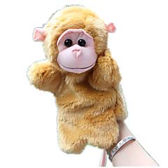 abordables Marionetas-Marionetas de dedo Marionetas Mono Bonito Animales Encantador Felpa Tactel Niños Regalo