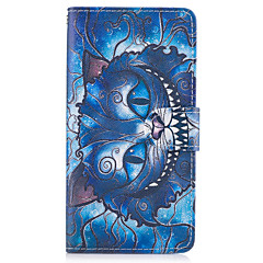Case For SONY Xperia X XA Case Cover The Blue Cat Pattern PU Leather Cases for Sony Xperia X compact XZ Premium Z5 Premium M2 M4 Aqua XA1 Ultra