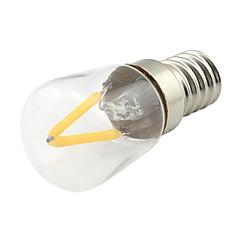 preiswerte LED-Birnen-1pc 2 W 170 lm E14 LED Glühlampen 2 LED-Perlen COB Warmes Weiß 220 V / 1 Stück