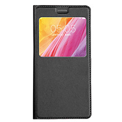 For Huawei P8 Lite (2017) P10 Lite  Case Leather Flip Protective With Window Cover For P9 Lite P8 Lite