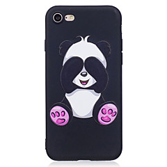 お買い得  iPhone 5S/SE ケース-ケース 用途 Apple iPhone X / iPhone 8 パターン バックカバー 動物 / パンダ ソフト TPU のために iPhone X / iPhone 8 Plus / iPhone 8