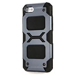 Недорогие Кейсы для iPhone 6 Plus-Кейс для Назначение Apple iPhone 7 Plus iPhone 7 Защита от удара Кейс на заднюю панель броня Твердый ПК для iPhone 7 Plus iPhone 7 iPhone