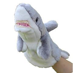 preiswerte -Marionetten Spielzeuge Fische Shark Tier Meerestier Niedlich Tiere lieblich Plüsch Kind Stücke