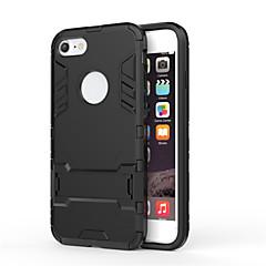 Pełnowartościowy żelazny pancerz męski 2 w jednym uchwyt na tasma ochronna do serii iphone