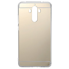 Для huawei p10 / p10 lite szkinstons plating mirror soft tpu case для p9 p9 lite p9 plus p8 p8 lite mate 9 8 7 nova honor 8 7 v9 v8 6x 4x