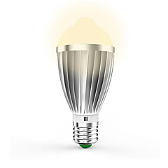 preiswerte LED-Birnen-7W 650lm E26 / E27 Smart LED Glühlampen G60 14pcs LED-Perlen SMD 5630 Infrarot-Sensor Lichtsteuerung Menschlicher Körper Sensor Warmes