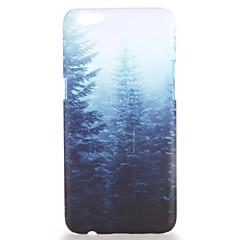 tanie Kılıflar-For oppo r9s r9s plus obudowa pokrywa wzór tylna pokrywa obudowa drzewo twardy komputer r9 r9 plus