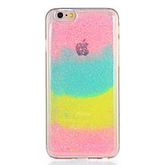 Для apple iphone7 7plus корпус крышка шаблон задняя крышка чехол цвет градиент блеск блеск мягкий tpu 6s плюс 6 плюс 6s 6