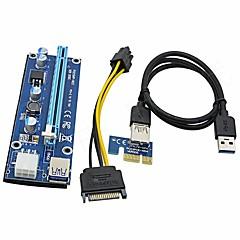 お買い得  ケーブル、アダプター-USB 3.0 延長ケーブル, USB 3.0 to USB 3.0 延長ケーブル オス―メス 0.6メートル(2フィート)