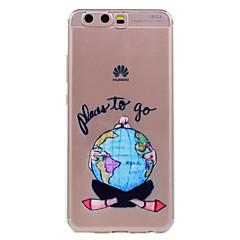 olcso Huawei tokok-Huawei p10 p10 lite telefon esetében szexi lány mintás puha TPU anyag telefon esetében p10 plusz P8 lite (2017)