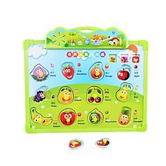 Zabawy w odgrywanie ról Puzzle Zabawka do rysowania Nauka czytania Zabawki Lateks Natural Wood Sztuk Nie określony Prezent