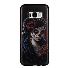 Etui Käyttötarkoitus Samsung Galaxy S8 Plus S8 Koristeltu Kuvio Takakuori Sexy Lady Kukka Kova PC varten S8 S8 Plus S7 edge S7 S6 edge S6