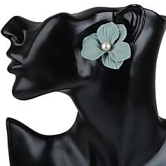 Női Beszúrós fülbevalók Francia kapcsos fülbevalók Fülbevaló Virágos Virágok Divat Bohemia stílus Kézzel készített Műanyagok