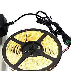 36W Giętkie taśmy świetlne LED 3400-3500 lm DC12 V 5 m 300 Diody lED Ciepła biel Biały
