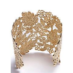 preiswerte Armbänder-Damen Manschetten-Armbänder - Rose Gold überzogen Retro, Natur, Punk Armbänder Gold / Silber Für Geburtstag Party / Abend Alltagskleidung
