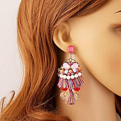 Χαμηλού Κόστους Σκουλαρίκια-Γυναικεία Κουμπώματα Κρεμαστά Σκουλαρίκια Σκουλαρίκια μπάλα Μοναδικό Κρεμαστό Κρεμαστό κόσμημα Θύσανος μινιμαλιστικό στυλ Ρητίνη Χρώμιο