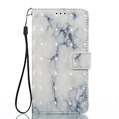 Dla lg k8 (2017) k10 (2017) obudowa pokrywa biały wzór popiołu 3d malowany portmonetka karty stent portfel telefon przypadku dla lg k7 k8