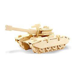 رخيصةأون -قطع تركيب3D تركيب النماذج الخشبية ديناصور دبابة طيارة 3D اصنع بنفسك خشبي خشب كلاسيكي للجنسين هدية