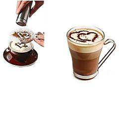 abordables Accesorios para café-1pc Acero inoxidable café de la plantilla Manual ,