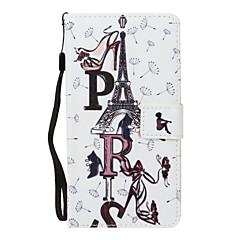 Dla jabłko iphone 7 7 plus 6s 6 plus se 5s 5 obudowa pokrywa listwy wzór pu materiał malowany punkt wiertło portfel portfel stent telefon