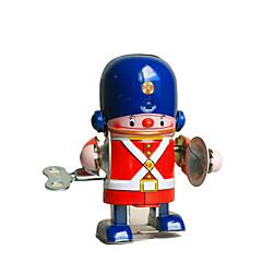 tanie -Robot Zabawka nakręcana Zabawki Retro Cylindryczny Maszyna Robot Perkusja Kute żelazo Sztuk Nie określony Prezent
