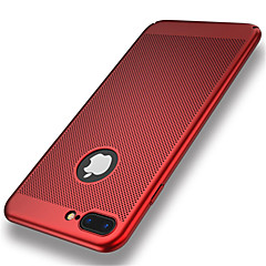 billige iPhone-etuier-Til iPhone 8 iPhone 8 Plus Etuier Ultratyndt Bagcover Etui Helfarve Hårdt PC for Apple iPhone 8 Plus iPhone 8 iPhone 7 Plus iPhone 7