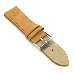cheap Watch Accessories-PU leather Watch Band Strap Brown 24cm / 9 Inches 2cm / 0.8 Inches