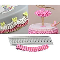 tanie -Formy Ciasta Dla Cookie na ciasto dla czekolady Do naczynia do gotowania Czekoladowy Ciasteczka Silicon Rubber Krzem DIY Urodziny