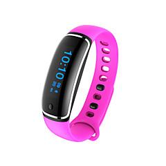 voordelige Smartwatches-Slimme armband Waterbestendig Verbrande calorieën Stappentellers Sportief Hartslagmeter Bloeddrukmeting Informatie Anti-verloren