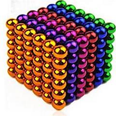 ألعاب المغناطيس مخفف الضغط 216 قطع 5mm ألعاب حديد (مطلي بالنيكل) مغناطيس دائري هدية