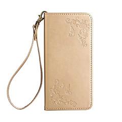 halpa -Kotelo sony xa1 l1 -suojakortin haltija lompakko, jossa jalusta käännettävä koko kotelo, perhonen kukka kova pu nahka xp e5 xz xz premium