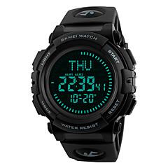 Slim horloge Waterbestendig Lange stand-by Sportief Multifunctioneel Kompas Stopwatch Wekker Chronograaf Kalender Other Geen Sim Card Slot
