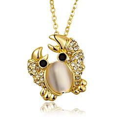 Жен. Ожерелья с подвесками Кристалл Цирконий Синтетический опал Геометрической формы В форме животных Синтетические драгоценные камни