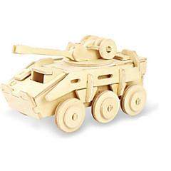 ieftine -Puzzle 3D Puzzle Modele de Lemn Dinosaur Rezervor Aeronavă Car de Război 3D Reparații De lemn Lemn Clasic Unisex Cadou