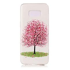 Χαμηλού Κόστους Galaxy S6 Edge Θήκες / Καλύμματα-tok Για Samsung Galaxy S8 Plus S8 Λάμπει στο σκοτάδι Με σχέδια Πίσω Κάλυμμα Δέντρο Μαλακή TPU για S8 Plus S8 S7 edge S7 S6 edge S6 S5