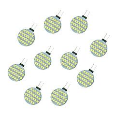 cheap LED Bulbs-10pcs 2.5W 189 lm G4 LED Bi-pin Lights 24 leds SMD 2835 Warm White White DC 12V