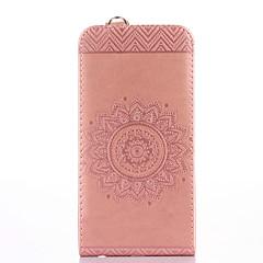 Назначение iPhone X iPhone 8 iPhone 8 Plus Чехлы панели Бумажник для карт со стендом Флип Рельефный Чехол Кейс для Сплошной цвет Цветы