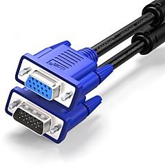 Недорогие VGA-VGA Удлинитель, VGA к VGA Удлинитель Male - Female Никелированная сталь 3.0M (10Ft)