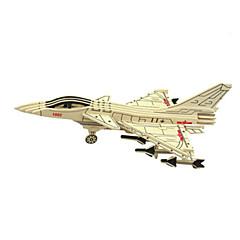 ieftine -Jucării pentru mașini Puzzle 3D Puzzle Modele de Lemn Aeronavă Luptător 3D Reparații Lemn Clasic Băieți Unisex Cadou