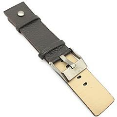 お買い得  大特価腕時計-PUレザー 時計バンド ストラップ ブラック オレンジ ブラウン 213 24センチメートル/ 9インチ 2cm / 0.8 Inch