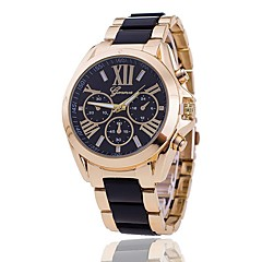 Women's Wrist watch Unique Creative Watch Casual Watch Dress Watch Fashion Watch Chinese Quartz Alloy Band Charm Casual Elegant Black