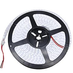preiswerte LED Lichtstreifen-HKV Flexible LED-Leuchtstreifen 1200 LEDs Warmes Weiß Weiß Wasserfest DC 12V