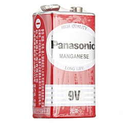 Panasonic 9V Without Tung Carbon Battery Non-Rechargeable Battery