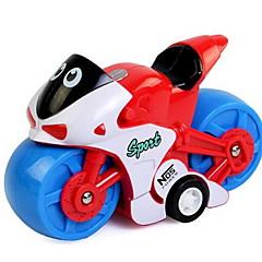 Αυτοκίνητο έλκυσης προς τα πίσω/Αυτοκίνητο αδράνειας Κουρδιστό παιχνίδι Αυτοκίνητα Παιχνιδιών Μηχανή Παιχνίδια Μοτοσυκλέτα Παιχνίδια