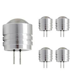 preiswerte LED-Birnen-5 Stück 1W 90lm G4 LED Doppel-Pin Leuchten T 1 LED-Perlen Hochleistungs - LED Warmes Weiß Kühles Weiß 12V
